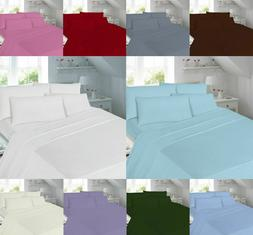 Fitted Sheets  Percale T180 Pillow Cases Single Double Super