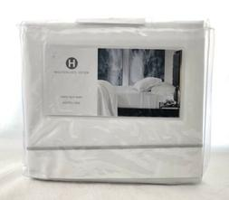 Hotel Collection Italian Percale 100% Cotton TWIN Flat Sheet