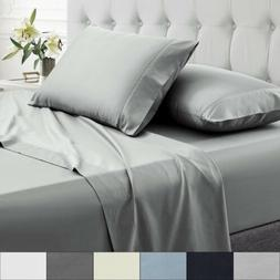Sweet Home Collection Percale 100% Egyptian Cotton Sheet Set
