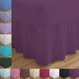 Percale Valance Sheets 180 Thread count Bed Double Single Su
