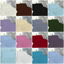 Poly-Cotton Percale Valance Fitted 40 CM 16'' Frill Bed Shee