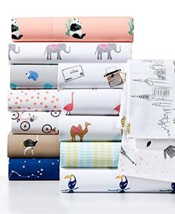 Whim by Martha Stewart Collection Novelty Print Cotton Perca